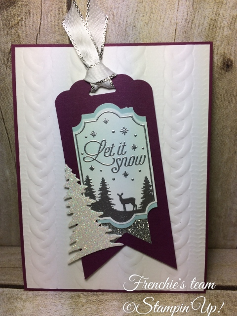 Merry Little Labels,  Everyday Label Punch , Frenchie's team, Stampin'Up!