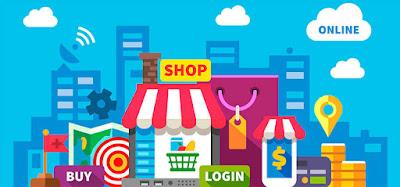 Menjual produk melalui toko online