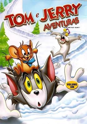 TOM & JERRY - AVENTURAS VOL. 1 (TRIAL ÁUDIO/DVDRIP) – 2006 Capa