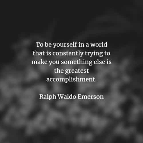 Famous quotes and sayings by Ralph Waldo Emerson