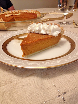 Spicier Pumpkin Pie