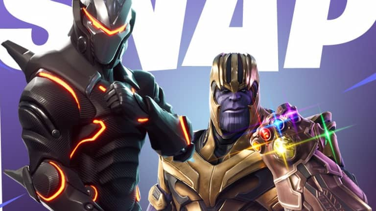 Thanos makes his way back to Fortnite Battle Royale