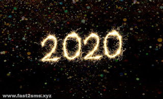 New Year Wishes 2020 Images by Fast2sms