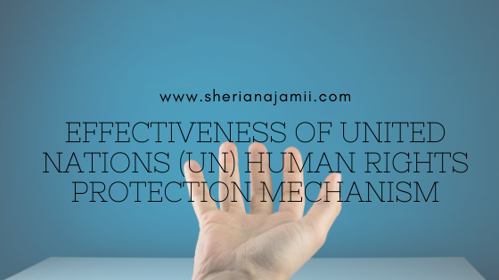EFFECTIVENESS OF UNITED NATIONS (UN) HUMAN RIGHTS PROTECTION MECHANISM