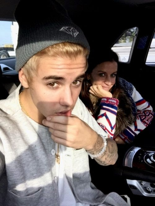 Hairy disaster: Justin Bieber is platinum blond