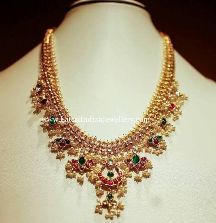 Simplified Guttapusalu Necklace