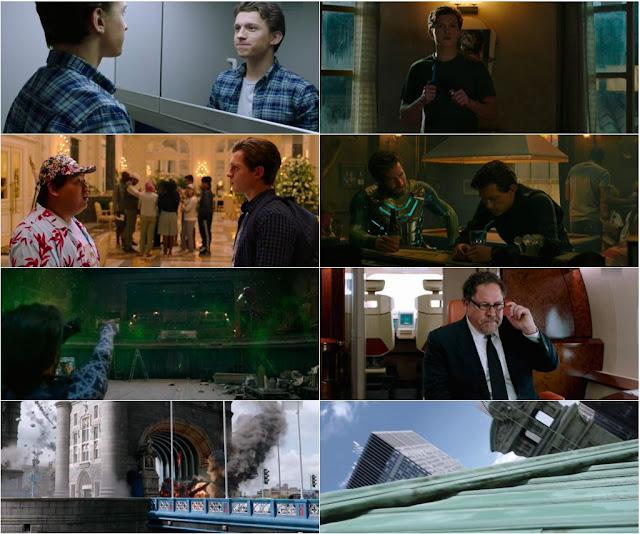 Spider Man Far From Home 2019 English 1080p WEBRip