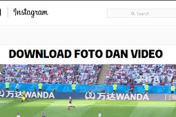 Cara mendownload Foto dan Video di Instagram
