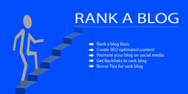 How to rank a blog on google's 1st page