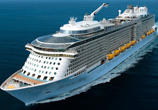 Royal Caribbean's Anthem of the Seas sailing to Gibraltar and Pireaus to bring crew members home.