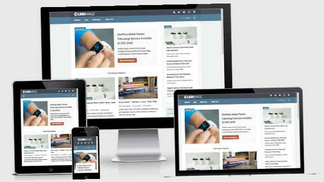 LinkMagz Premium Blogger Template Versi  Terbaru Gratis Download