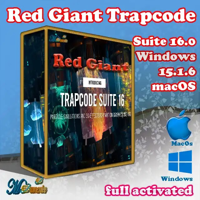 Red Giant Trapcode Suite Win/MacOs