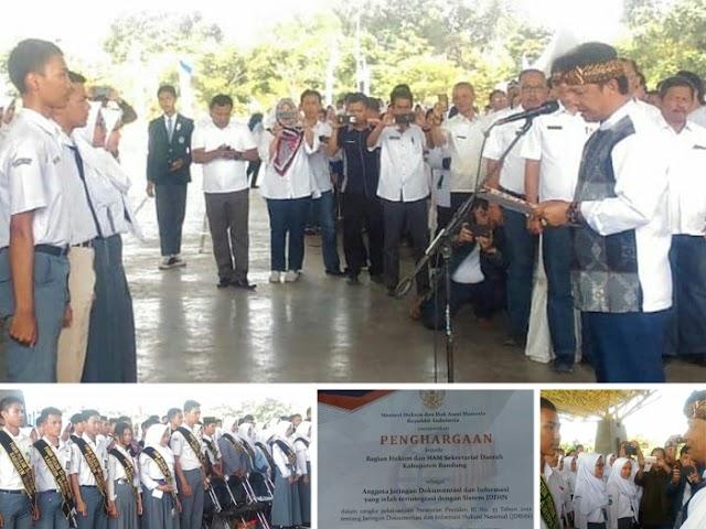 Forum Pelajar Sadar Hukum Kabupaten Bandung Dikukuhkan
