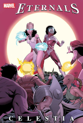 Marvel revela la portada y detalles de Eternals: Celestia #1