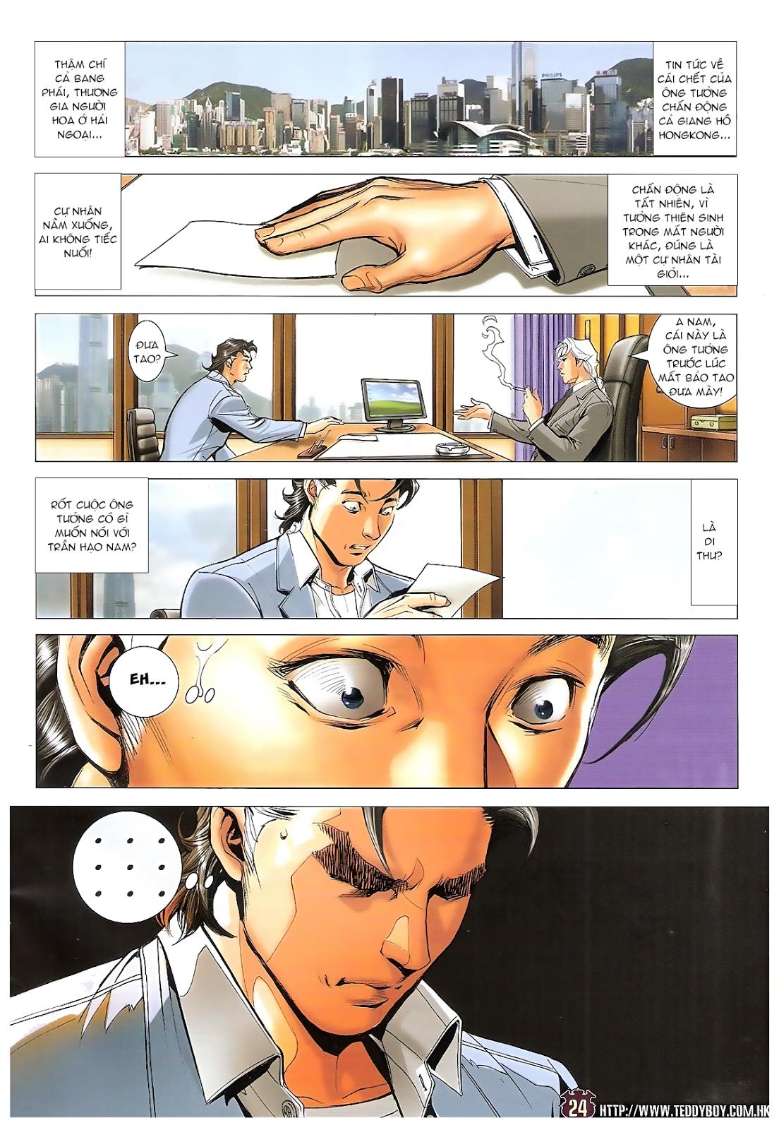 Người Trong Giang Hồ chapter 1657: vĩnh biệt tưởng thiên sinh trang 23