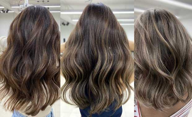 bayalage hair coloring