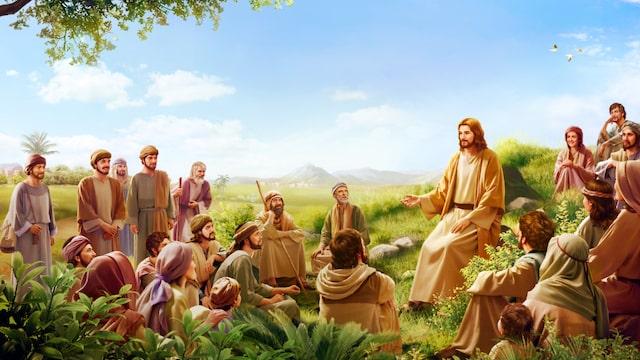 耶穌, 福音, 神的聲音