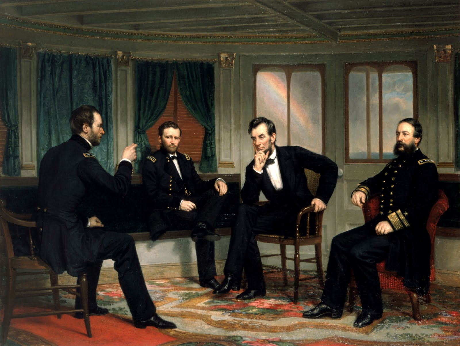 Abraham Lincoln The Peacemakers 1868