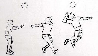 Jump servis bola voli