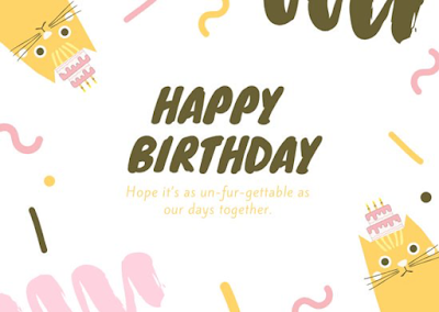Kartu Ucapan Selamat Ulang Tahun