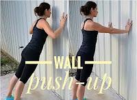 Wall push-up