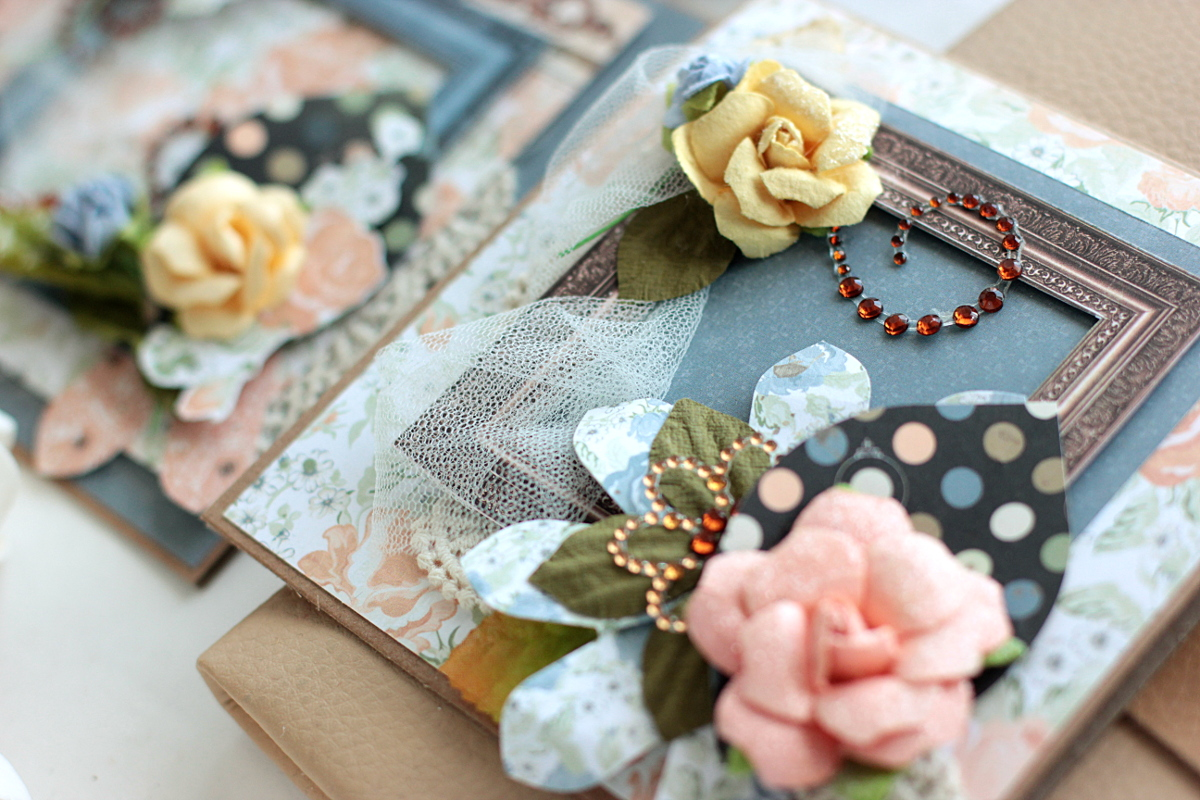 Vintage Inspired Handmade Card Set Once Upon A Lifetime Cards