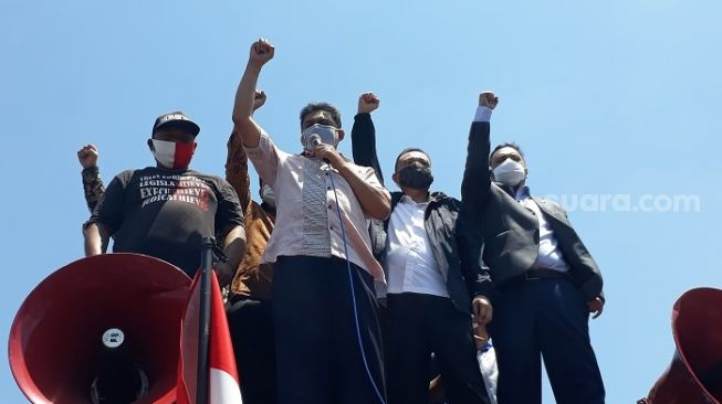 Tak Nongol saat DPR Digeruduk Buruh, Puan Cuma Titip Salam Lewat Dasco