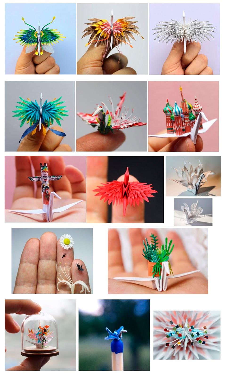 Las 1000 grullas de Cristian Marianciuc - origami - artist