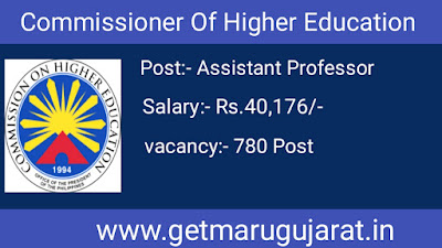 Commissioner Of Higher Education Recruitment 2020