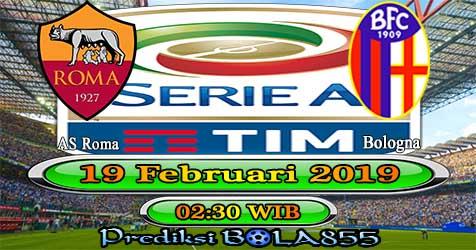 Prediksi Bola855 AS Roma vs Bologna 19 Februari 2019
