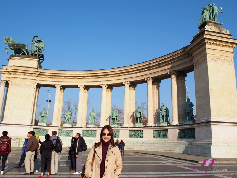 hungary budapest tourist attractions heroes square andrassy avenue