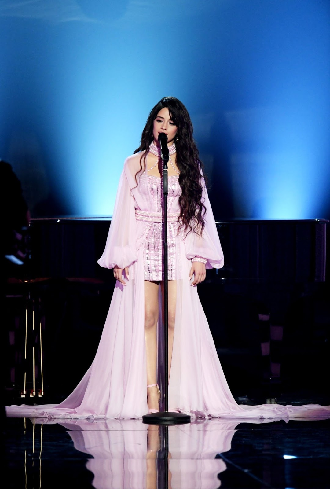 Camila Cabello Performs Emotional Tribute to Her Father at Grammys
