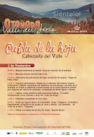 CABEZUELA DEL VALLE. CAÍDA DE LA HOJA