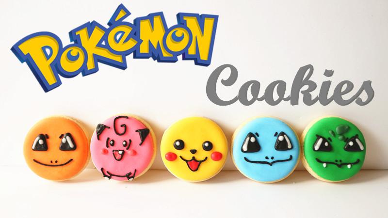 Pokemon Cookies 寵物小精靈曲奇