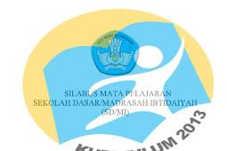 Download Silabus IPA untuk SD/MI Kelas 1 sampai 6 Lengkap Kurikulum 2013