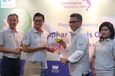 Combiphar Tennis Open 2018 : Dukungan Combiphar untuk Atlet Tenis