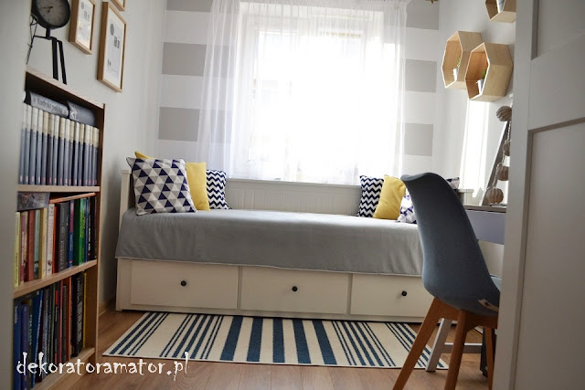 pokój gościnny, aranżacja małego pokoju, gabinet, mały pokój