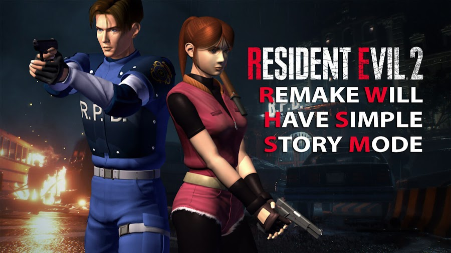 resident evil 2 remake campaign mode zapping system