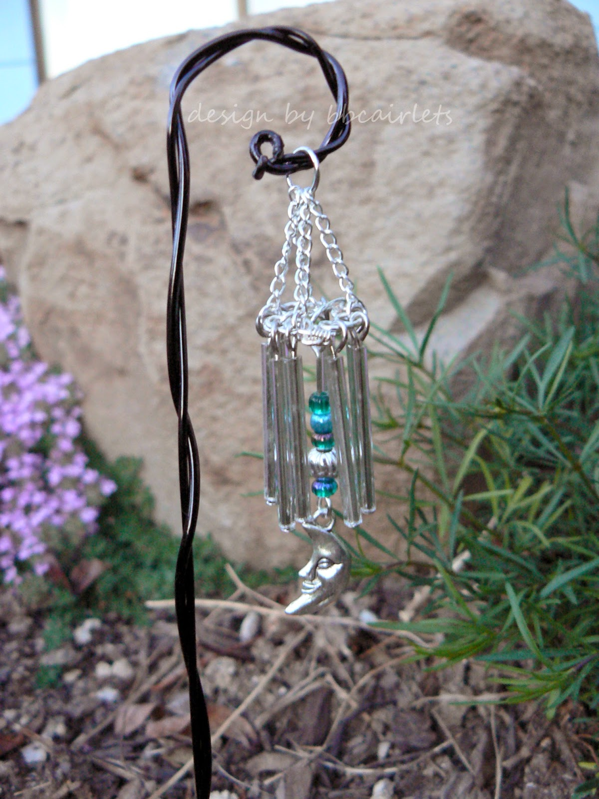 You Better Bling It Baby Diy Fairy Garden Wind Chimes