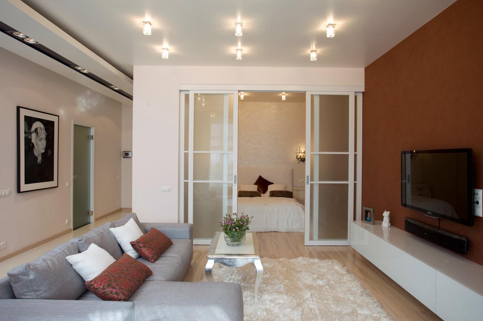 Дизайн однокомнатной квартиры: Однокомнатная квартира на ...