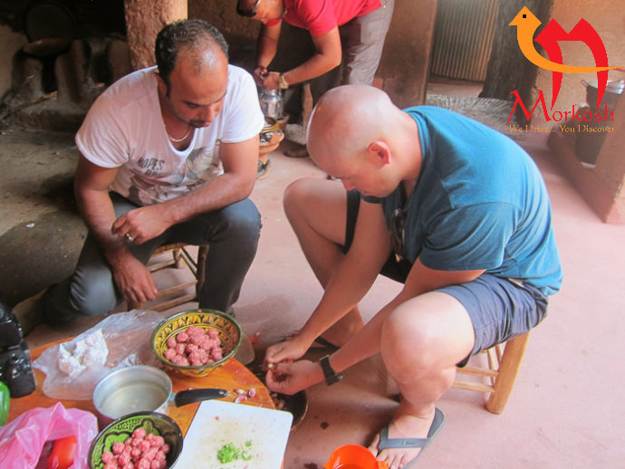 Best Morocco Desert Tours: Berber Cooking Class in the High Atlas Mt