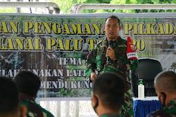 Latihan PAM Pilkada 2020, Upaya Mendukung Tugas Pokok TNI