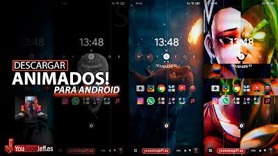 fondos de pantalla en movimiento android