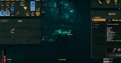 Swamp, New World, Chest Location, map