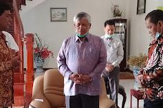 Rapidin-Juang Didoakan Ephorus HKBP  Sukses di Pilkada  Samosir 2020