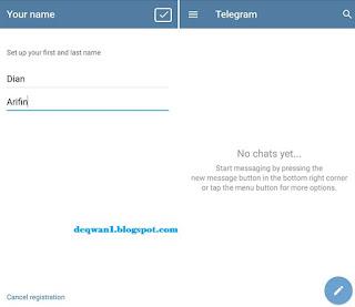 Cara Membuat Akun Telegram di Hp Android