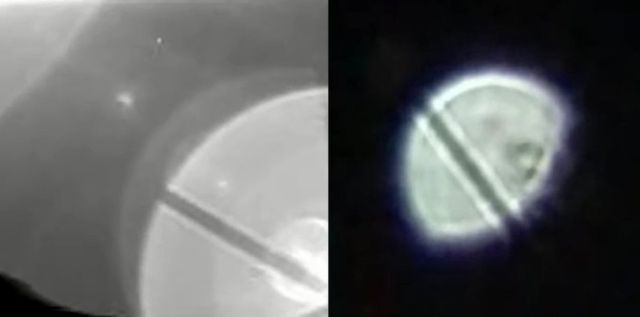 Something from Saturn photographed by Cassini spacecraft appears in Earth's atmosphere?  Ufo-saturn-earth-cassini-spacecraft