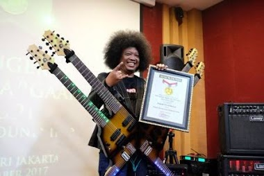 Profile Instruktur gitar Puguh Kribo