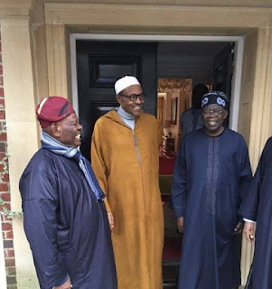 Circulated Photos Of My Visit To Buhari In London; The True Story - Tinubu Speaks