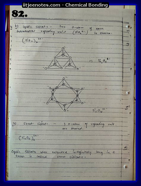 Chemical-Bonding Notes chemistry10